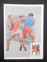 RUSSIA MK 1981 SPORT SPORTS BOXEN BOXING MAXIMUMKARTE MAXIMUM CARD MC CM a7709