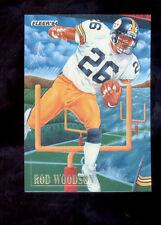 1994 Fleer ROD WOODSON Pittsburgh Steelers Pro Visions Insert Card