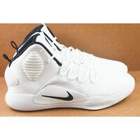 Nike Hyperdunk X Mens Size 10.5 Basketball Shoes White AR0467 100
