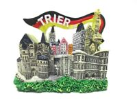 Trier Recuerdo Imán Porta Negro Bandera Poly Fridge Germany Alemania Nuevo