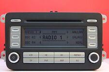 VW VOLKSWAGEN RCD 300 CD RADIO PLAYER & CODE GOLF PASSAT CADDY JETTA TOURAN