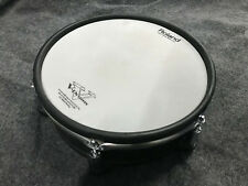 """Roland PD-128S-BC SNARE 12"""" V Drum Mesh Head Snare Drum - EXCELLENT"""