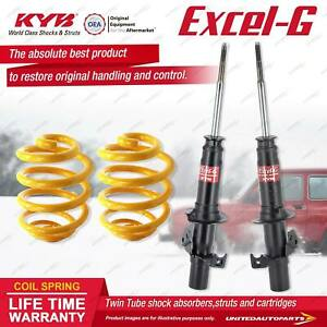 Front KYB EXCEL-G Shock Absorbers Super Low King Springs for HONDA CRX ED9 1.6