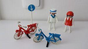 playmobil 3573 setnr. Radfahrer, fietsers, les cyclistes, cyclists, bicycle