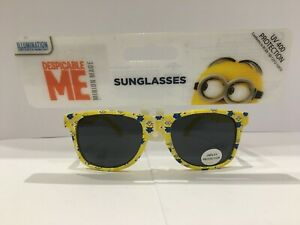 NEW MINION MADE DESPICABLE ME KIDS SUNGLASSES IN YELLOW