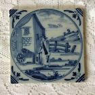 Antique 17th Century English Delft Tile Probably Liverpool
