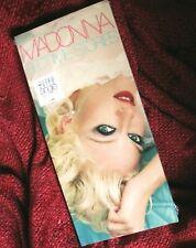 MADONNA BEDTIME STORIES SEALED LONGBOX CD SET PROMO HYPE STICKER SECRET ALBUM LP
