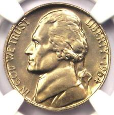 1964 Jefferson Nickel 5C Coin - NGC MS66 5FS - Rare Full Steps - $1,750 Value!