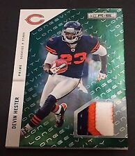 DEVIN HESTER 2011 Rookies & Stars PATCH Jersey LONGEVITY Emerald PRIME #d /99