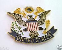 UNITED STATES EAGLE  Military Veteran Pin 16100 HO  LARGE