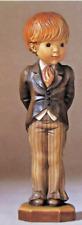 "Anri Sarah Kay With This Ring 4"" 57130 1131/4000 Groom Boy Carved Wood Figurine"