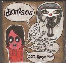 DIONYSOS don diego CD PROMO neuf