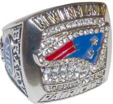 Goodies Bague Chevaliere NFL PATRIOTS Tom BRADY Superbowl 2011 neuve