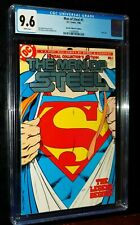 MAN OF STEEL #1 Collectors Edition 1986 DC Comics CGC 9.6 NM+  White Pages