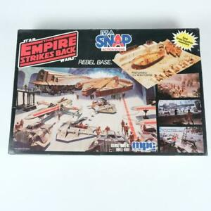 MPC ERTL Star Wars Empire Strikes Back Rebel Base Diorama Model Snap Kit 8735