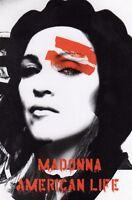 CARTOLINA- MADONNA - AMERICAN LIFE- NUOVA cm 10 x cm 15