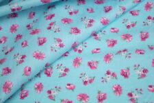 """1605047 2 METERS Small Floral 100/% cotton fabric  63/""""width"""