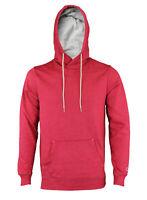 Champion Mens Achievement Pullover Basic Fleece Hoodie, Cardinal Red