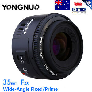 Yongnuo YN35mm EF 35mm F2 Wide-angle Fixed Auto Focus Lens For Canon EF EOS F5C4