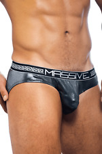 Andrew Christian Gunmetal MASSIVE Gladiator Brief AC Style 90900