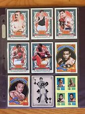PANINI Boxing Trading Card Lot of 11 Louis, Marciano, Frazier, Leonard 2013-2014