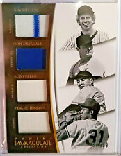 2015 Immaculate Quad Players Prime /15 Sutton Drysdale Feller Jenkins #5 /99