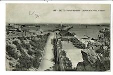 CPA-Carte postale- France- Cette Station balnéaire le Port et la Jetée le Stand
