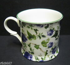 1 Ivy Rose Blue Small English Fine Bone China Mug Cup By Milton China