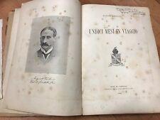 B62 UNDICI MESI IN VIAGGIO 1892 Torlonia Augusto