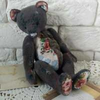 Retro Vintage teddy bear Antique teddy bear Classic teddy bear Toy bear