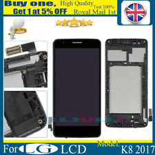 Replacement LCD Touch Screen Digitizer Frame Assembly for LG K8 2017 M200n Black