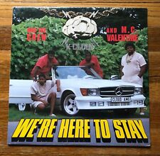 K-Cloud & M.C. Valentine We're Here to Stay RARE vinyl LP record (SEALED - NEW)