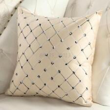 Plaid Throw Pillow Case Home Bed Sofa Decorative Cushion Cover Shell Room Decor