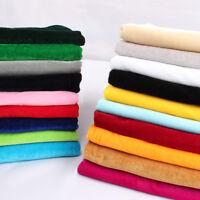 Pleuche Material Table Cloth Sofa Chair making Velvet Fabric  by Yard