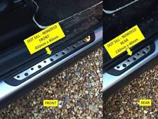 VW TIGUAN 2007-2017 FLEXILL DOT STYLE DOOR SILL PLATES AFTERMARKET 9696091D