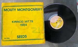 "Monty Montgomery ""Seeds"" Rare 1984 Nigeria Version Reggae LP Kwaco's Hitts"