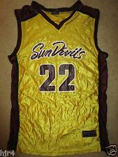 Arizona State Sun Devils #22 Basketball Jersey SM S small