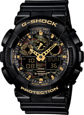 Casio G Shock GA-100CF-1A9 Men's Camouflage Watch With Black Resin Band