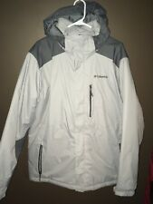 Columbia Winter Jacket Mens Size L Excellent Used Condition Light/dark Grey