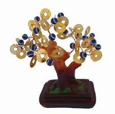 Feng Shui Money Tree with Evil Eye Jewels