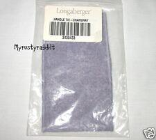 Longaberger Basket Large Fabric Handle Tie ~ Chambray Blue - New
