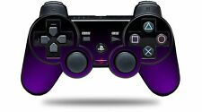 Skin for PS3 Controller Smooth Fades Purple Black CONTROLLER NOT INCLUDED