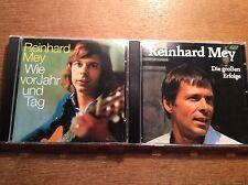 Reinhard Mey  [2 CD Alben] Die großen Erfolge + Wie vor Jahr und Tag