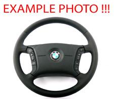 *BMW X5 Series E53 NEW Black Leather Steering Wheel 4 Spoke M-tricoloured