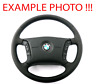*BMW X5 Series E53 NEW Black Leather Steering Wheel 4 Spoke M-tricoloured