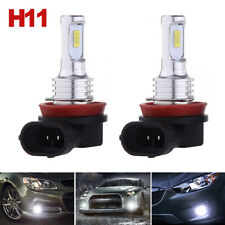 H8 H9 H11 LED Headlight Super Bright Bulbs Kit 4000LM 80W HIGH/LOW Beam 6000K