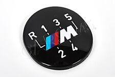 Genuine BMW E24 E28 Z1 M 5-Speed Shift Gear Knob Badge Emblem OEM 25111221613