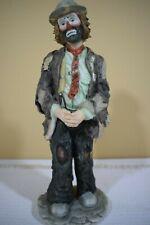 "Flambro Emmett Kelley Jr. Hobo Figure Standing 10"" tall Ltd Ed (120)"