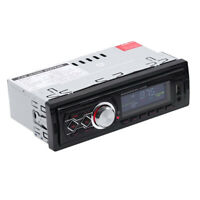 1 Din 12V Universal Car In-Dash Stereo FM Radio MP3 Audio Player USB/SD/AUX