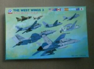 Pitroad 1/700 West Wings 3 Aircraft Model Set